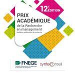 Syntec Conseil_Prix academique de la Recherche en Management_2021