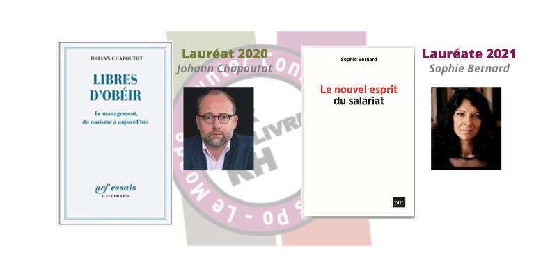 Syntec Conseil_Prix du livre RH 2020 21_Laureats